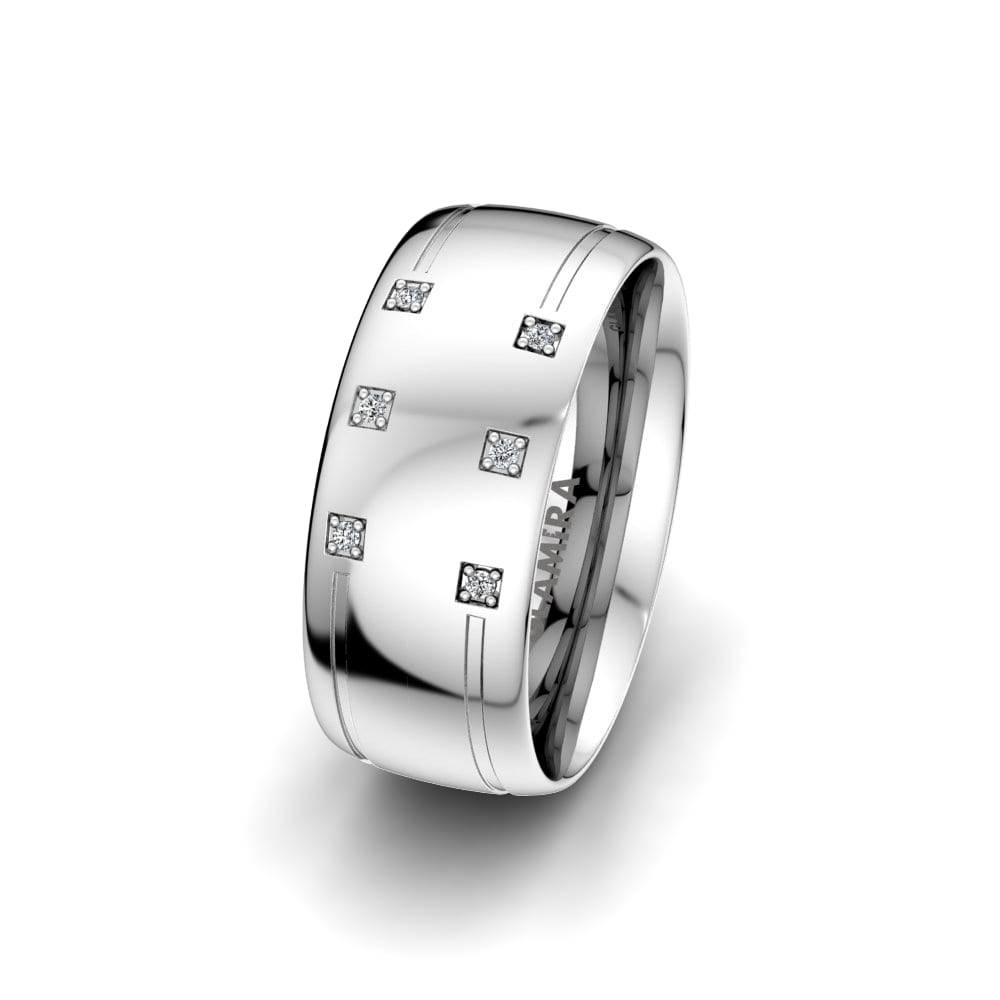 Women's Ring Dynamic Story 8 mm