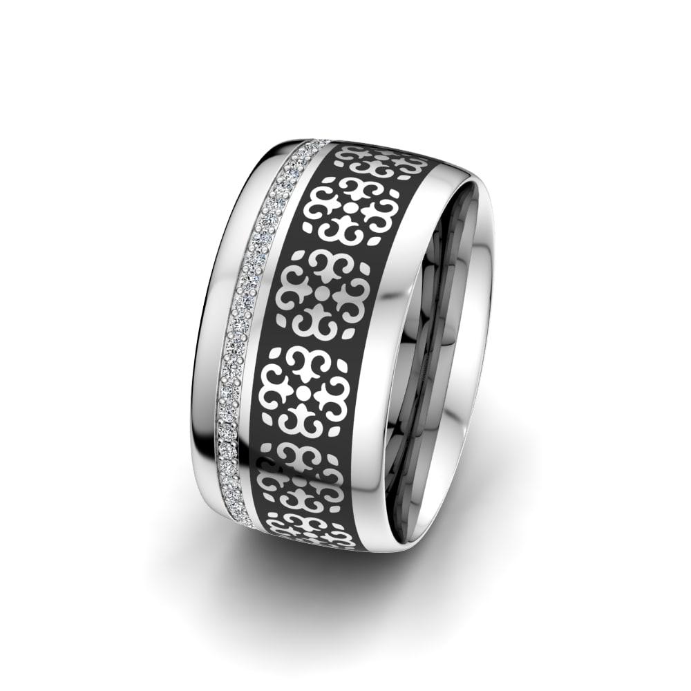 Dámské prsteny Charming Surface 10 mm