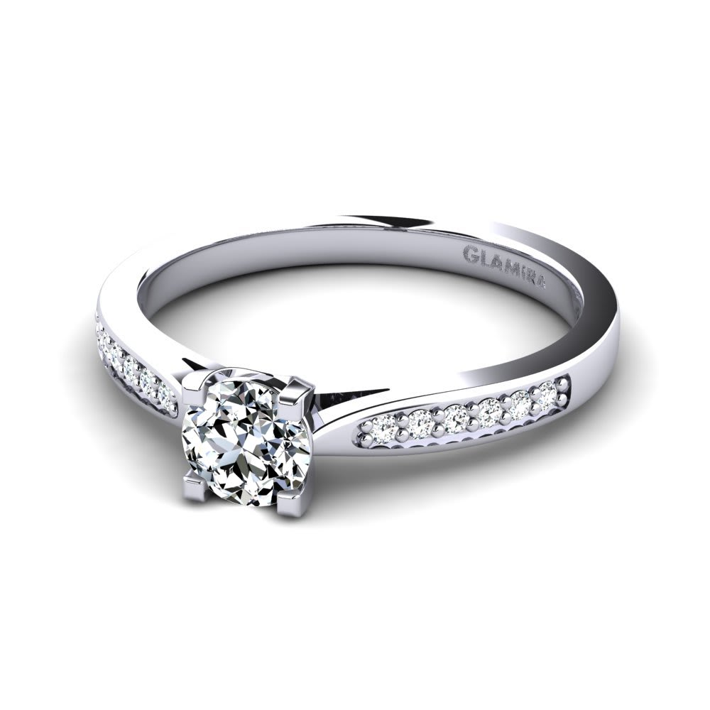 3c644bceb Buy Swarovski Crystal Engagement Rings | GLAMIRA.ae