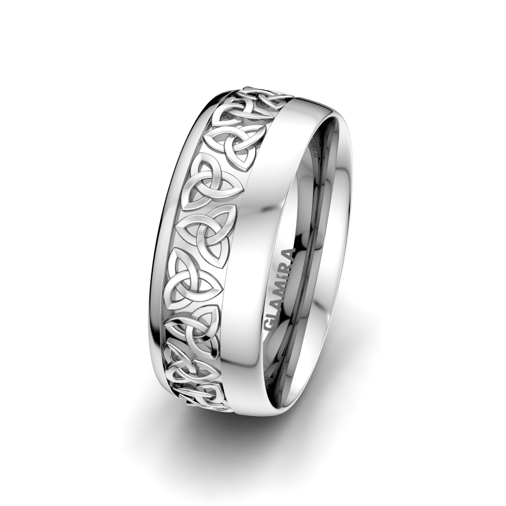 Men's Ring Magic Shield 8 mm
