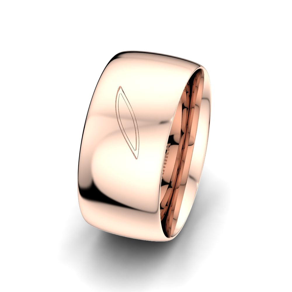 Men's Ring Fever Letter 10 mm