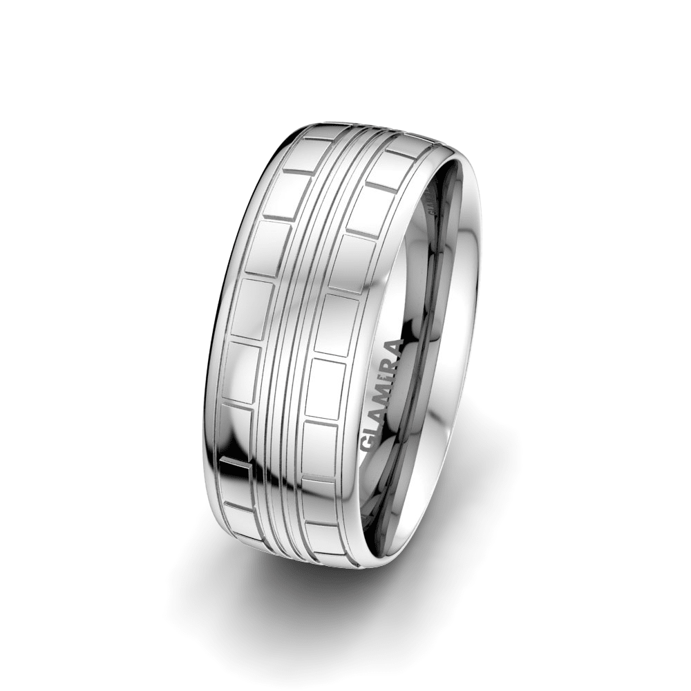 Men's Ring Heavenly Couple 8 mm