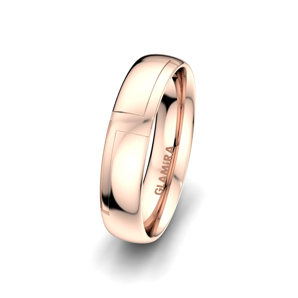 Men's Ring Sensual Waves 5 mm