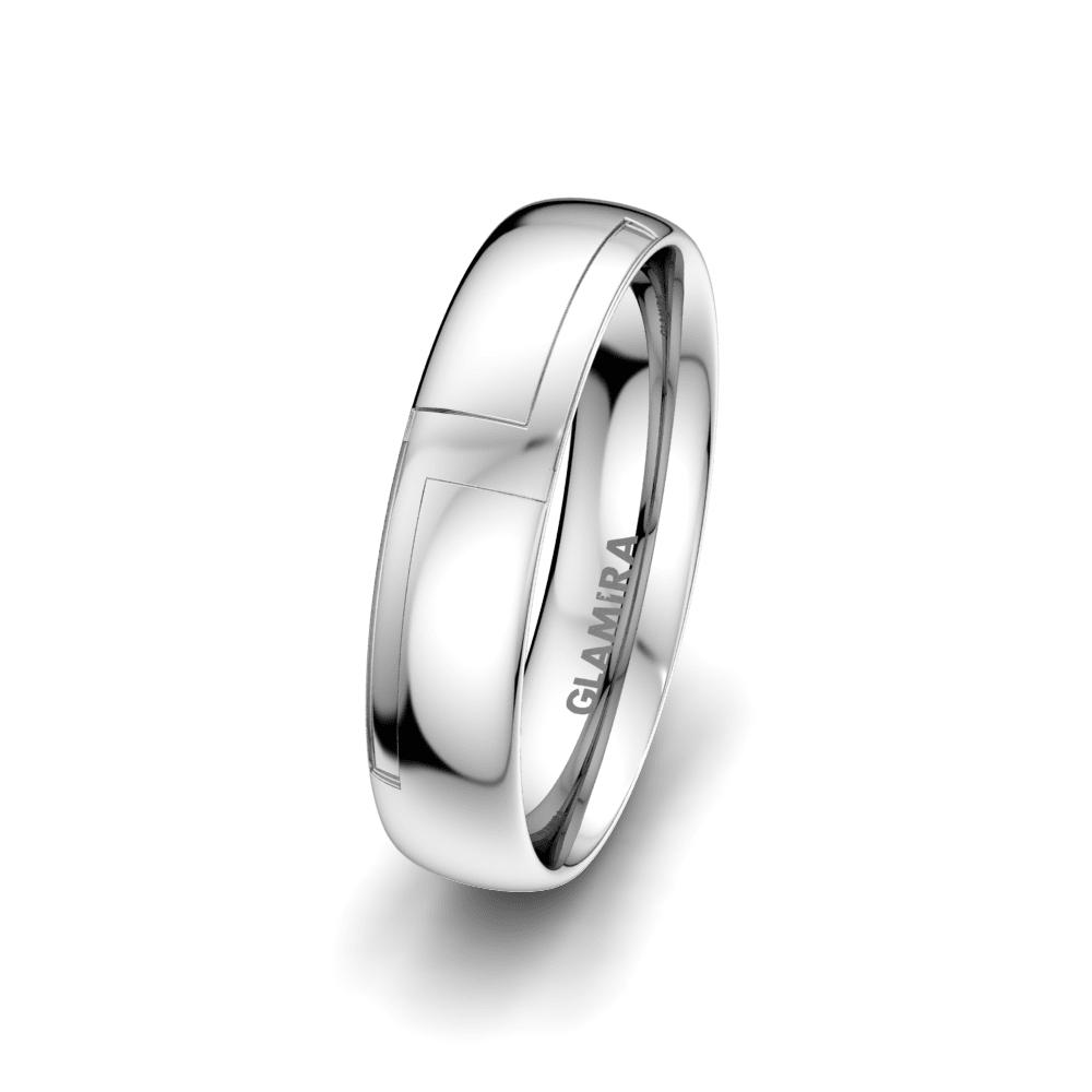Men's Ring Sensual Waves 5 mm