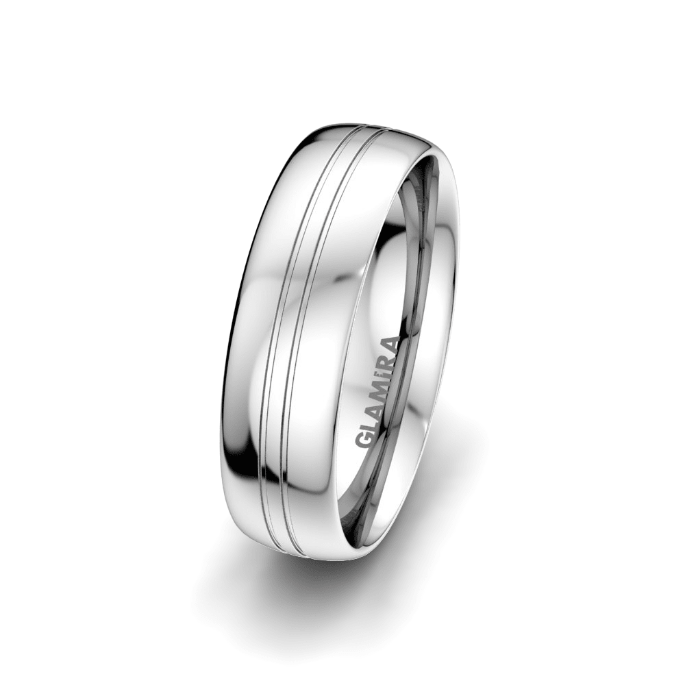 Men's Ring Essential Route 6 mm