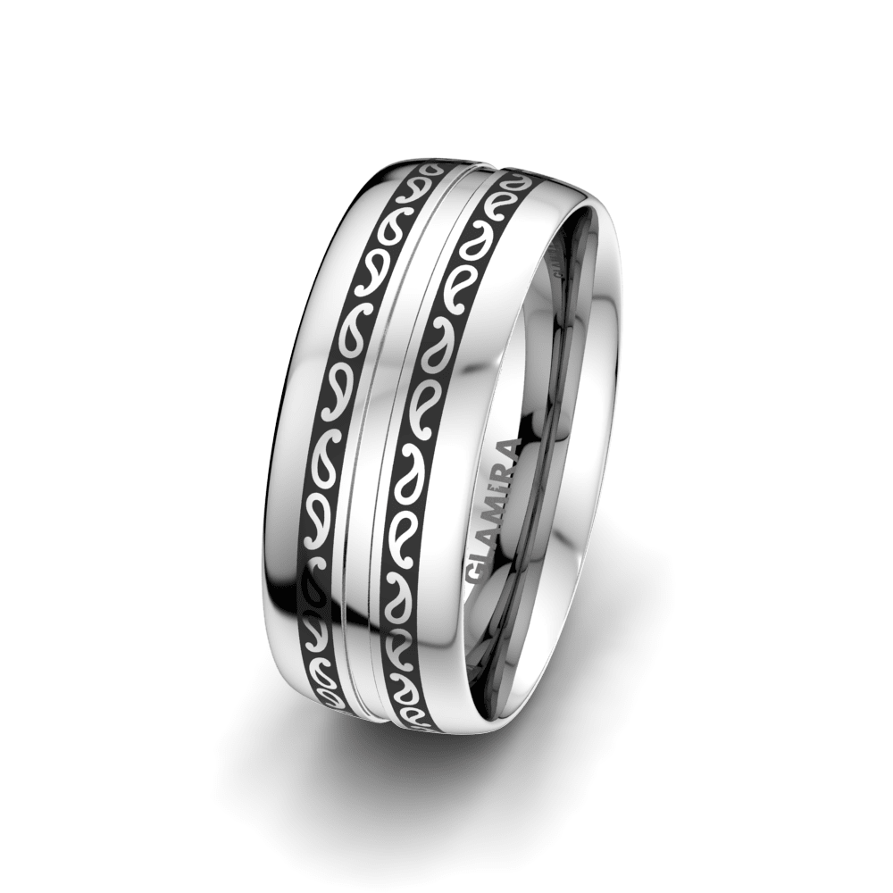 Men's Ring Essential Trend 8 mm