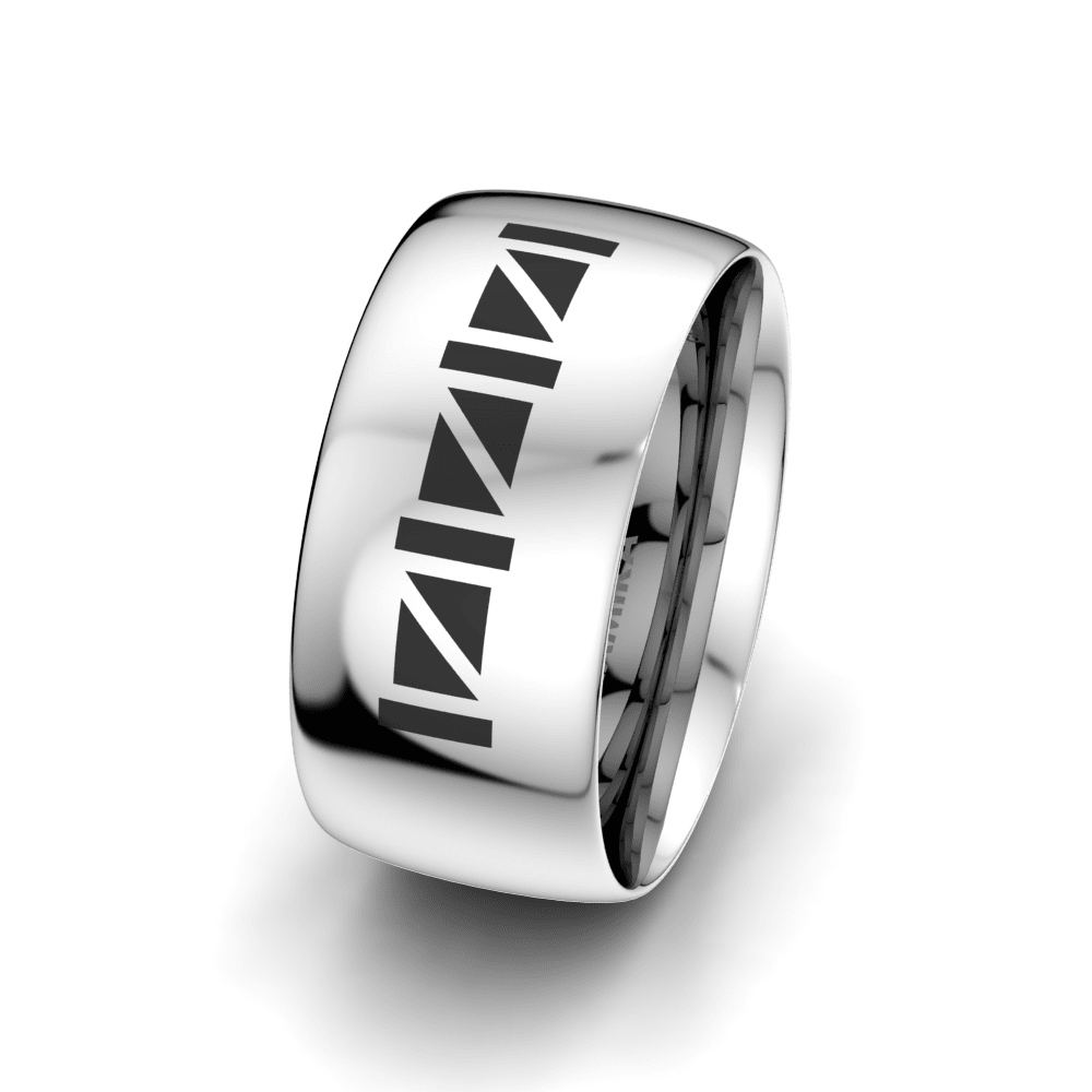 Men's Ring Essential Luck 10 mm