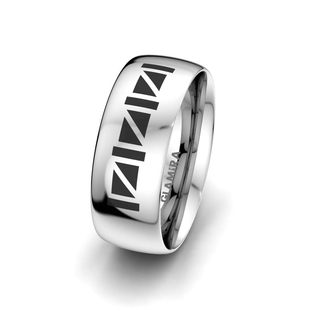 Men's Ring Essential Luck 8 mm