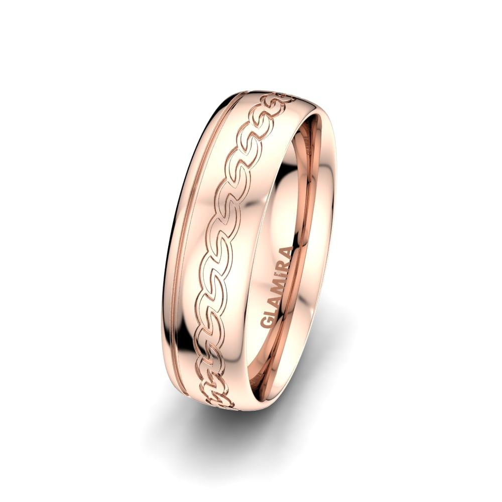 Men's Ring Glittering Elegance 6 mm