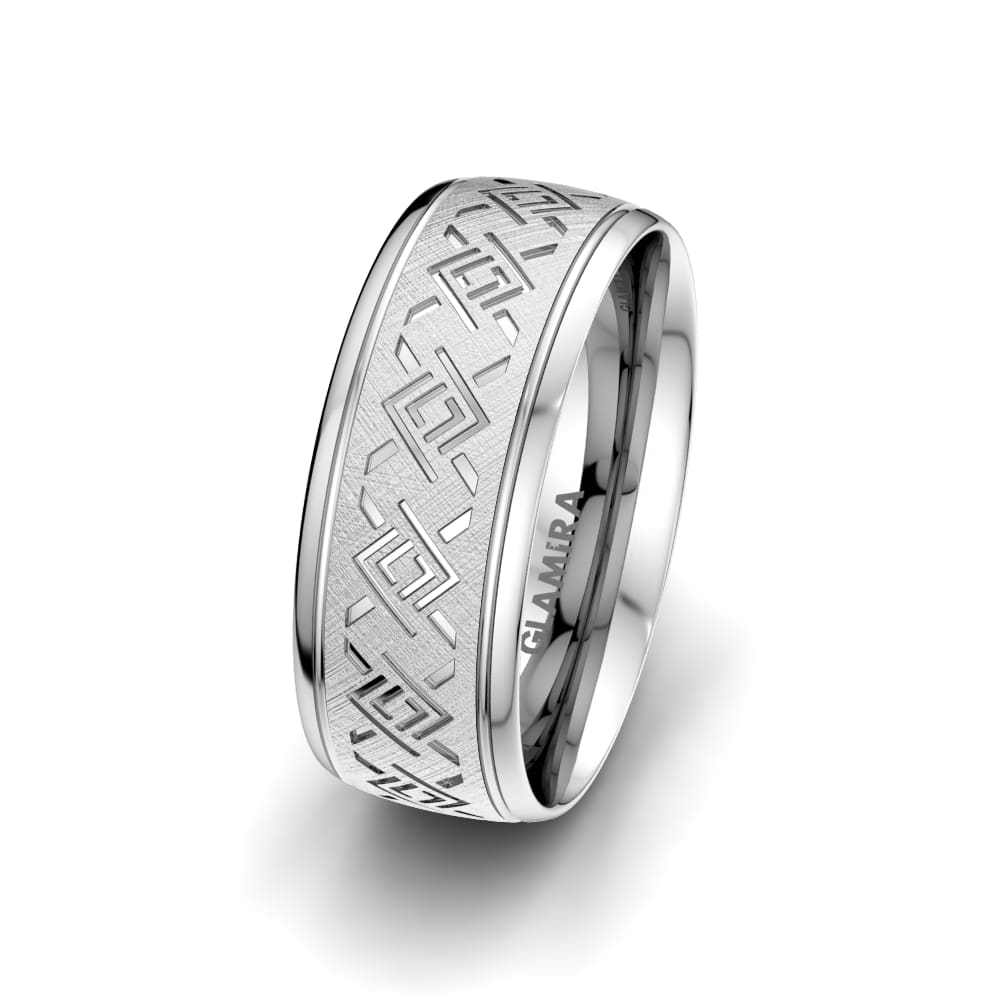 Men's Ring Endless Road 8 mm