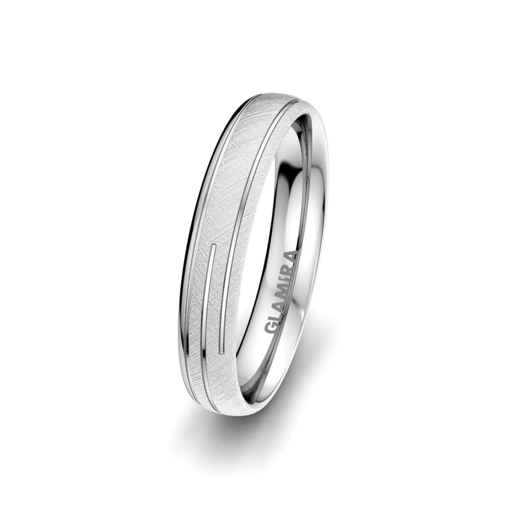 Moški prstani Alluring Line 4 mm