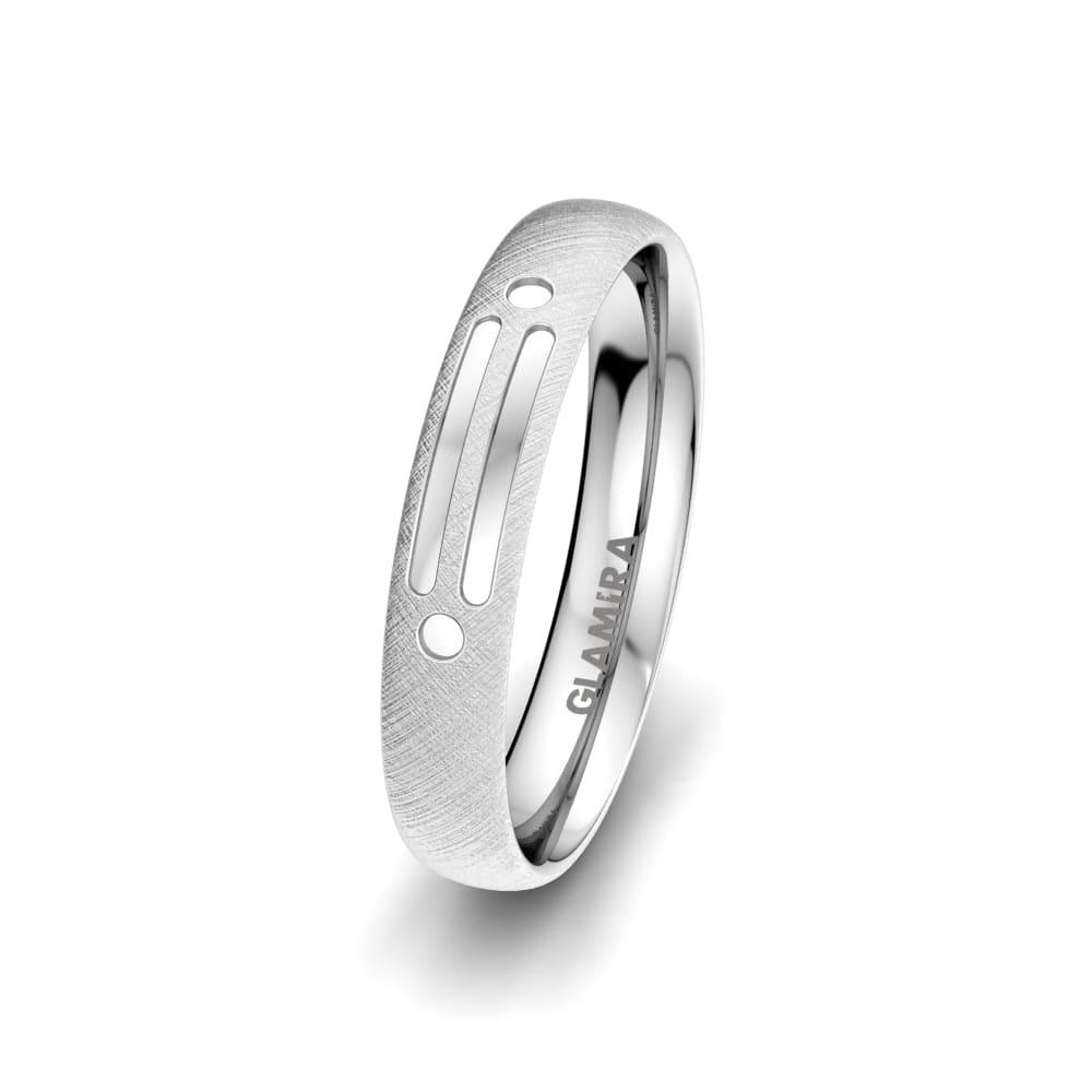 Moški prstani Attractive Glaze 4 mm
