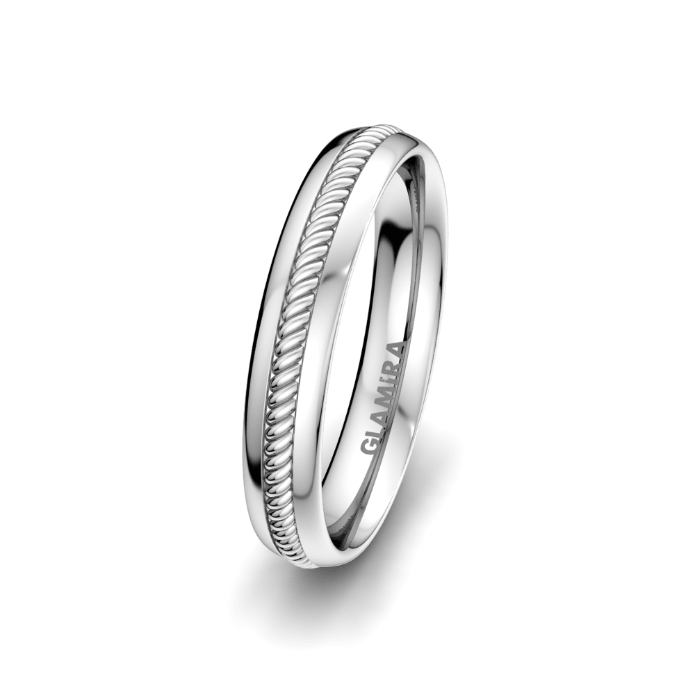 Men's Ring Exciting Light 4 mm