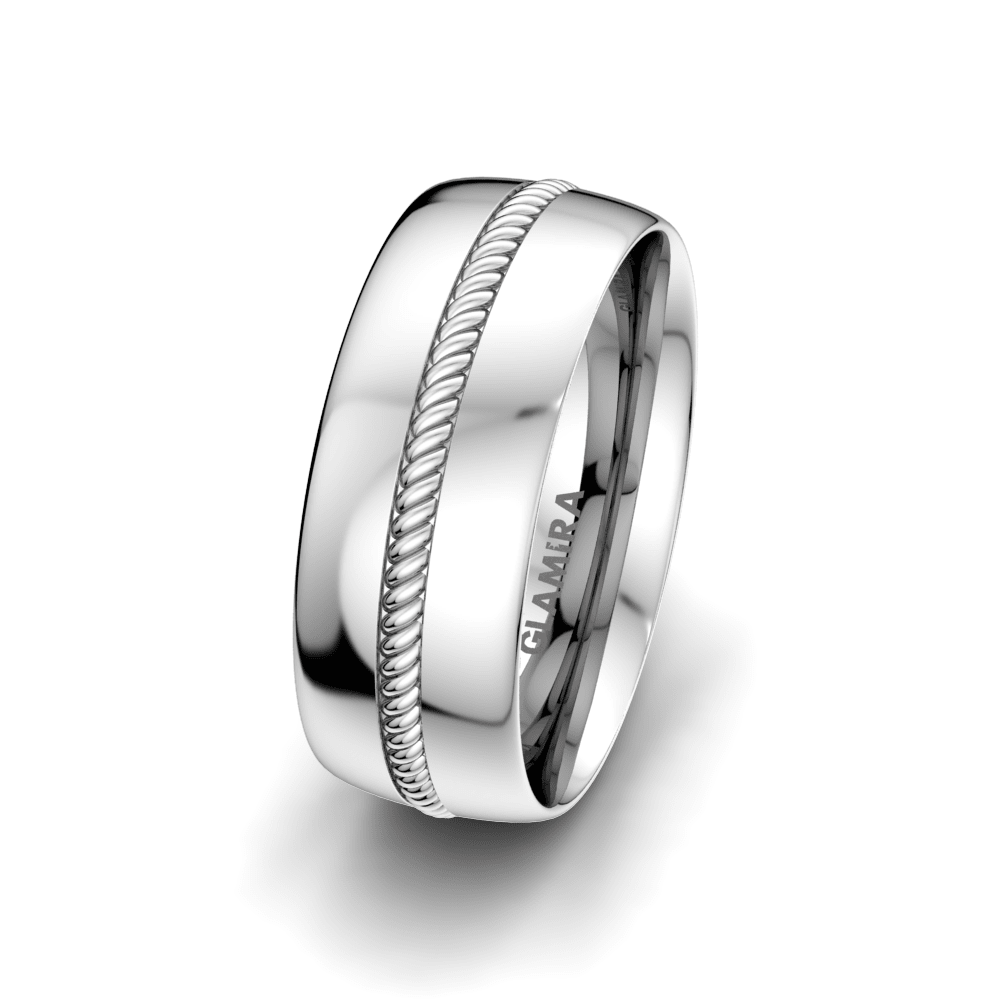 Bague pour hommes Exciting Light 8 mm