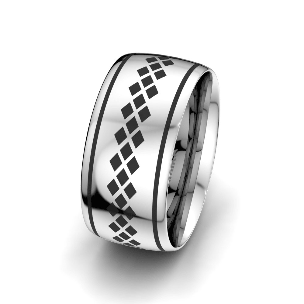 Men's Ring Charming Sunset 10 mm