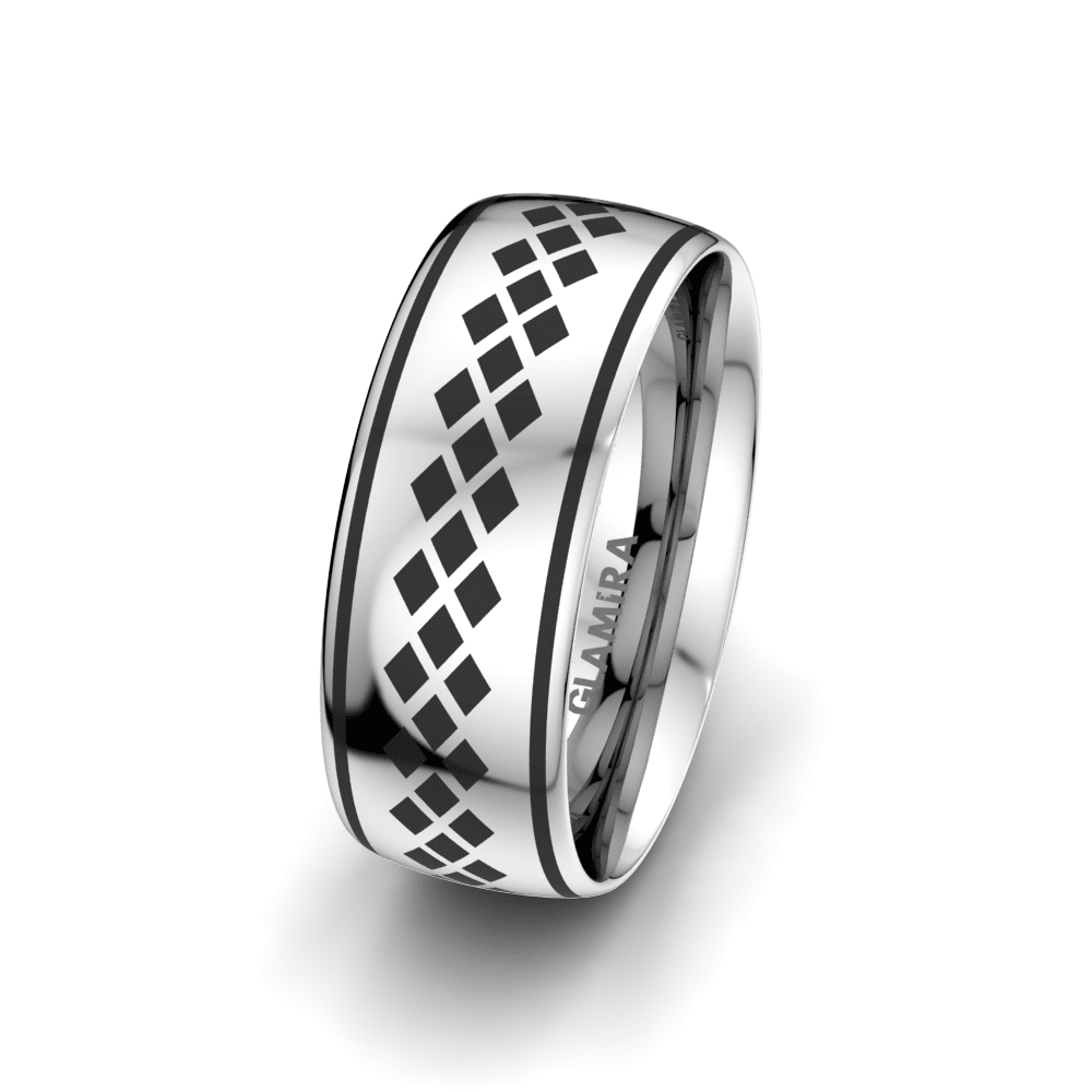 Men's Ring Charming Sunset 8 mm