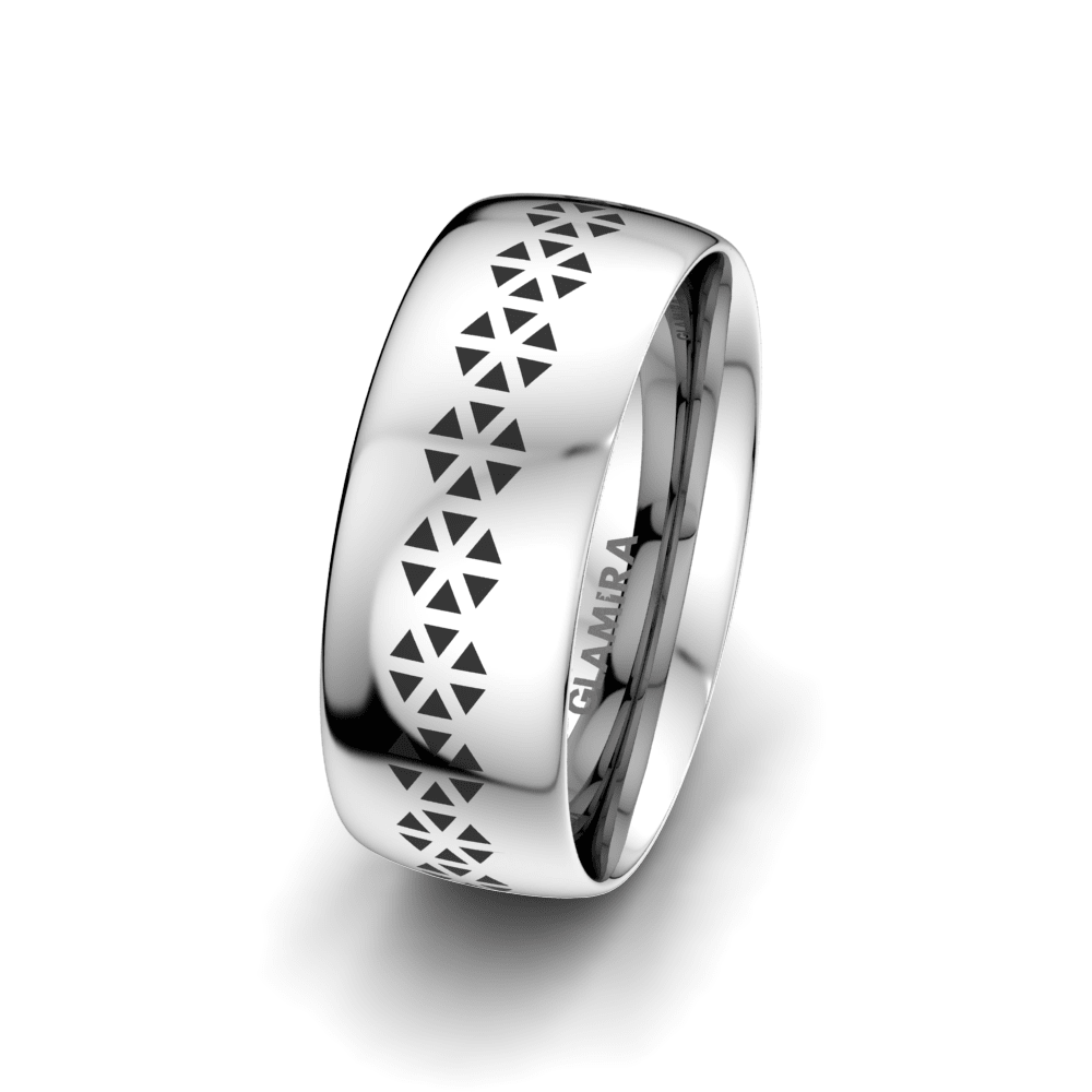 Men's Ring Charming Spring 8 mm
