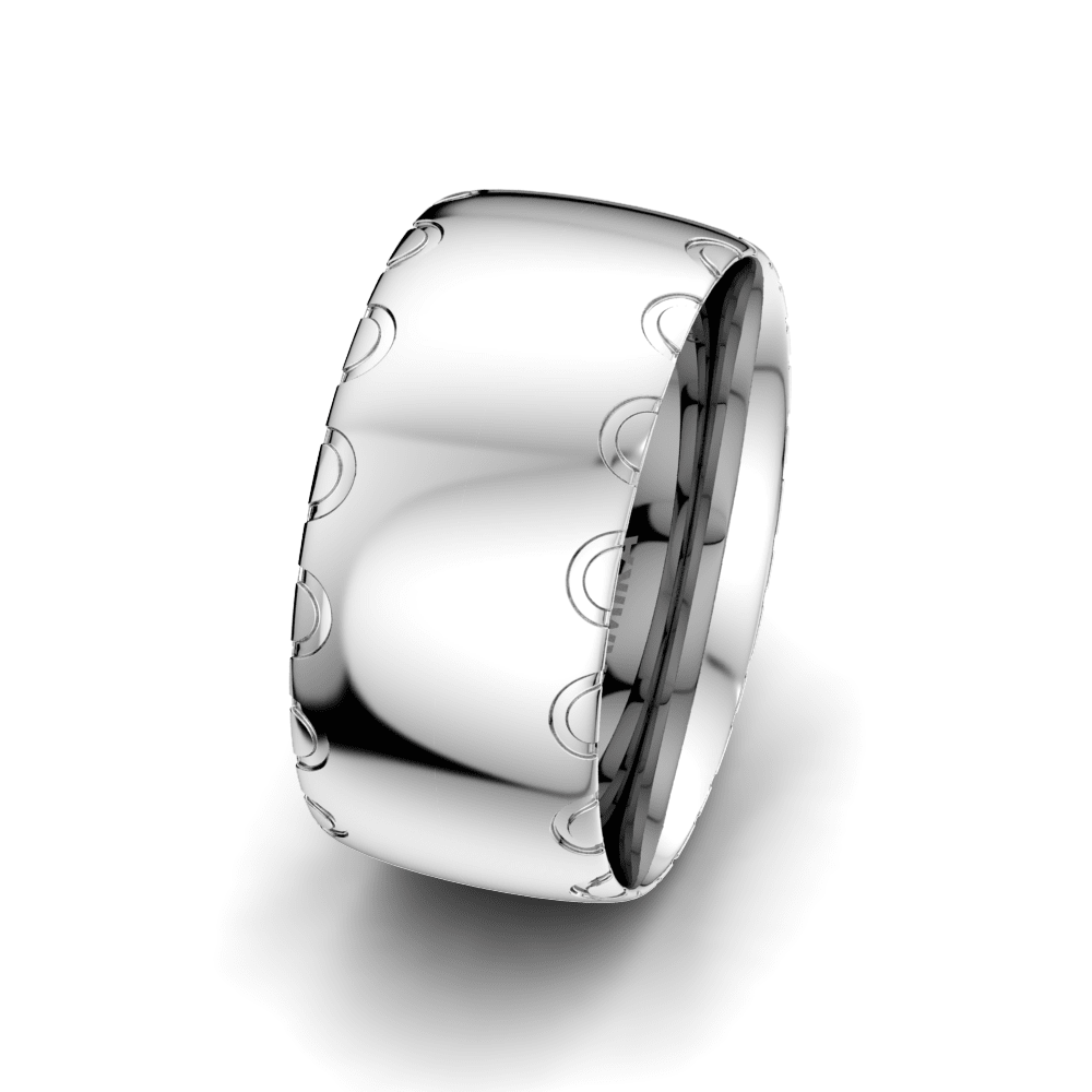Men's Ring Florid Dream 10 mm