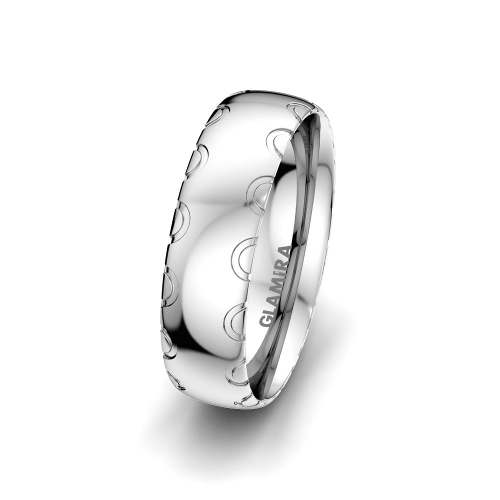Men's Ring Florid Dream 6 mm