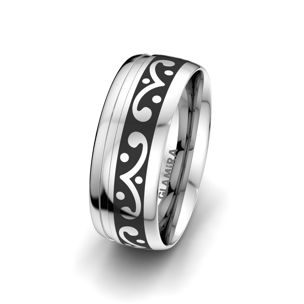 Men's Ring Essential Love 8 mm