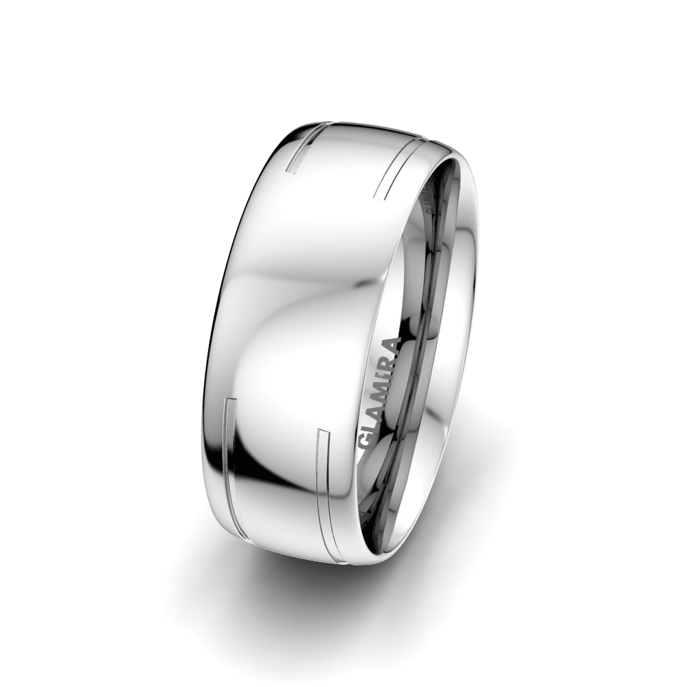 Men's Ring Dynamic Story 8 mm