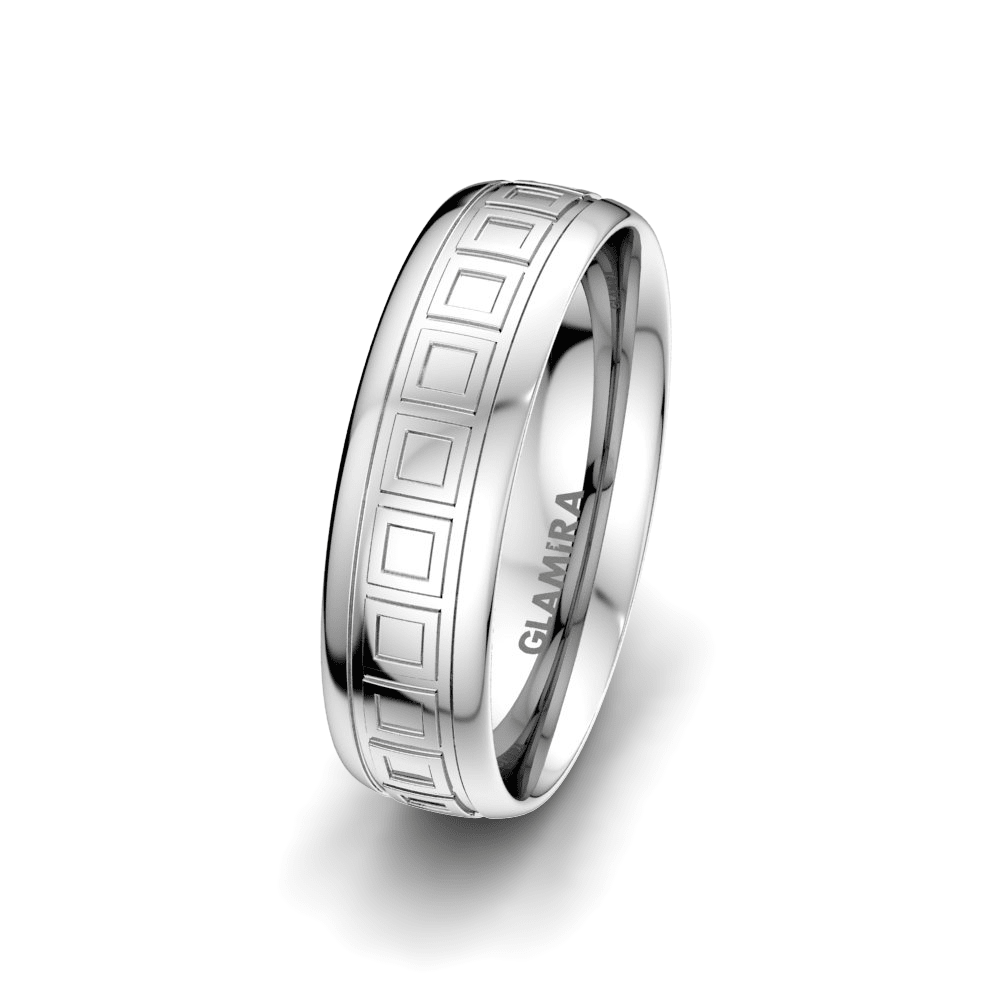 Men's Ring Charming World 6 mm