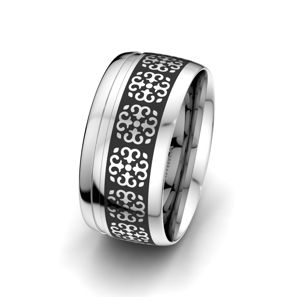 Men's Ring Charming Surface 10 mm