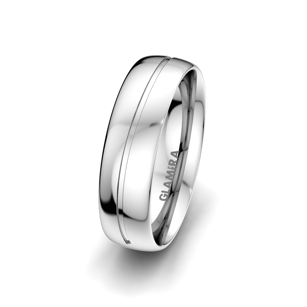 Men's Ring Charming Noble 6 mm