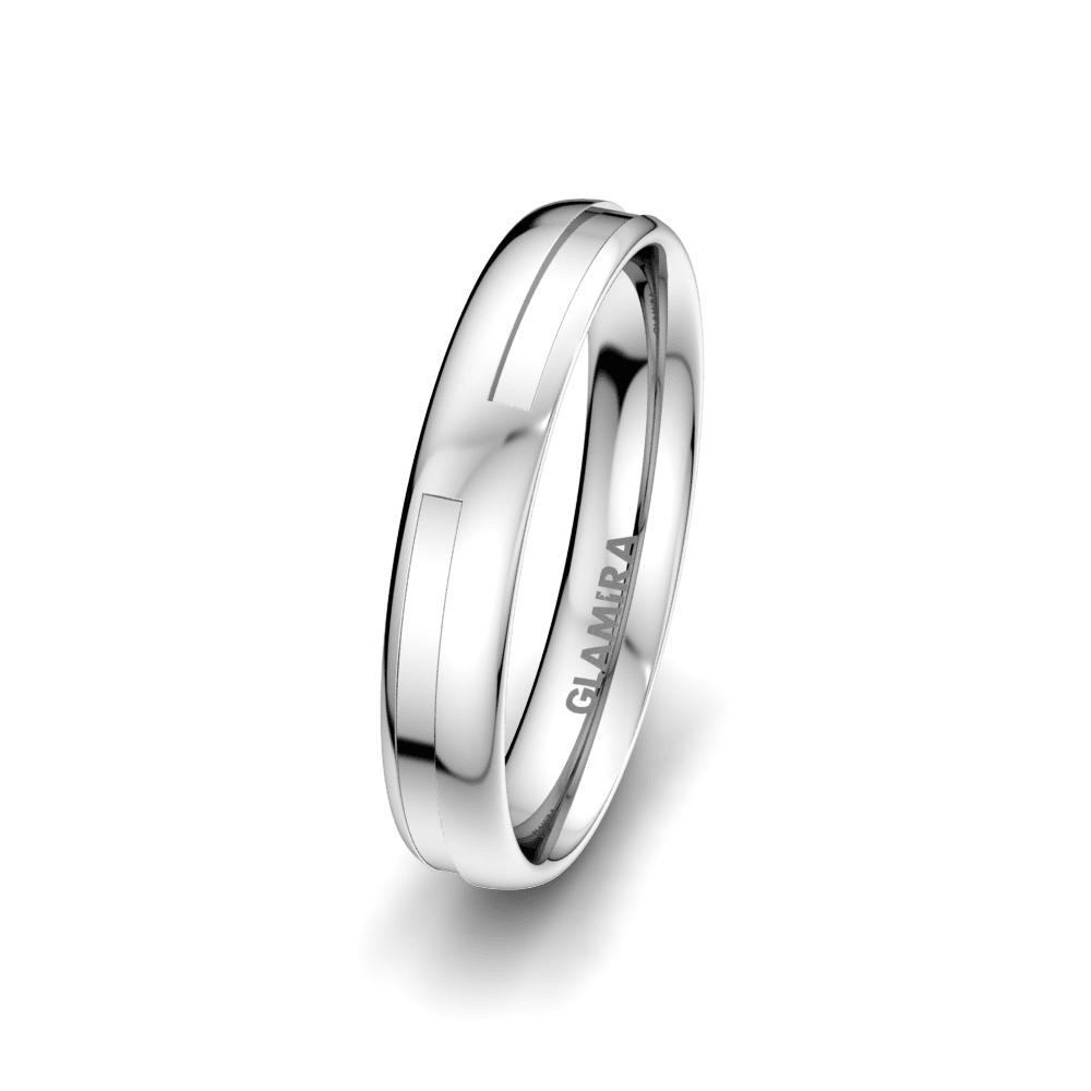 Men's Ring Elegant Choice 4 mm