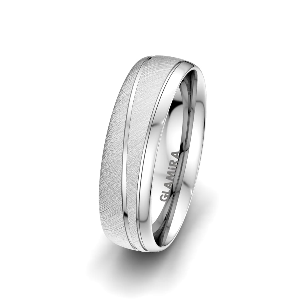 Men's Ring Glamour Wish 6 mm