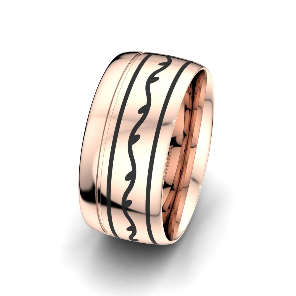 Men's Ring Ornate Love 10 mm
