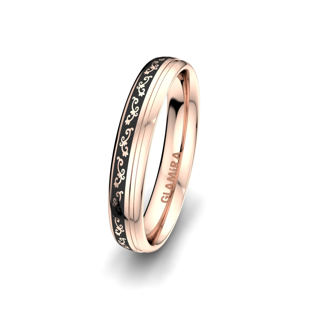 Men's Ring Noble Life 4 mm