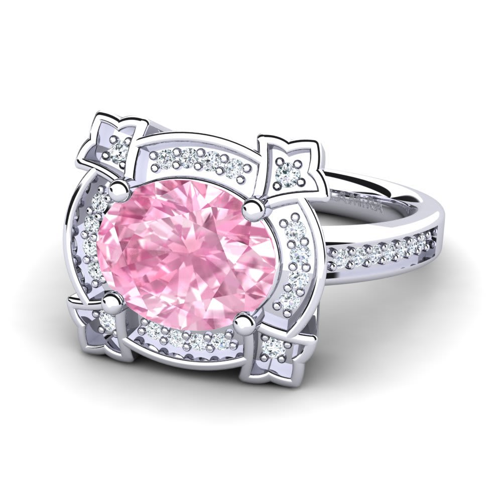 Get Pink Sapphire - Rings | Glamira.com.au