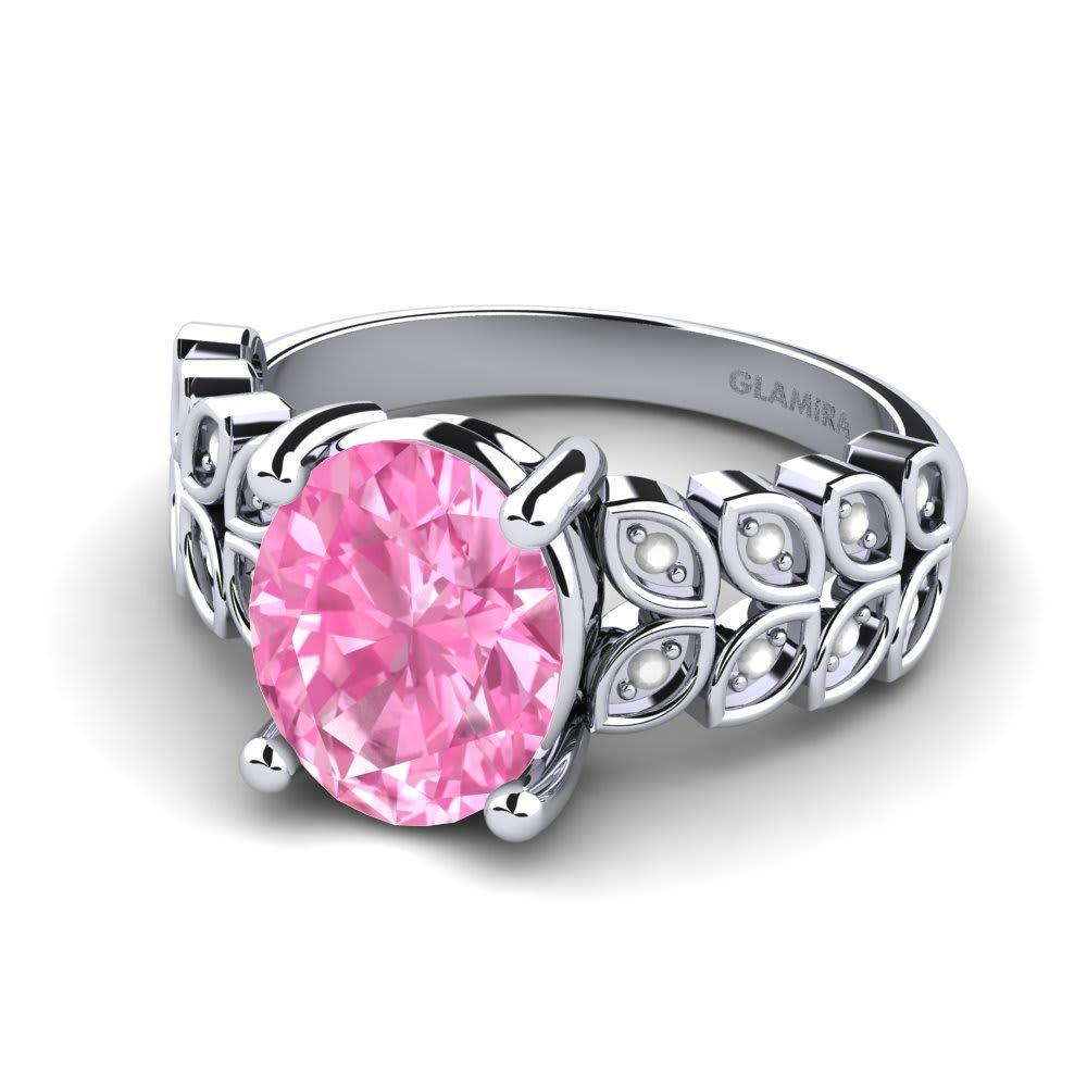 Buy Pink Sapphire - Engagement Rings | GLAMIRA.co.uk