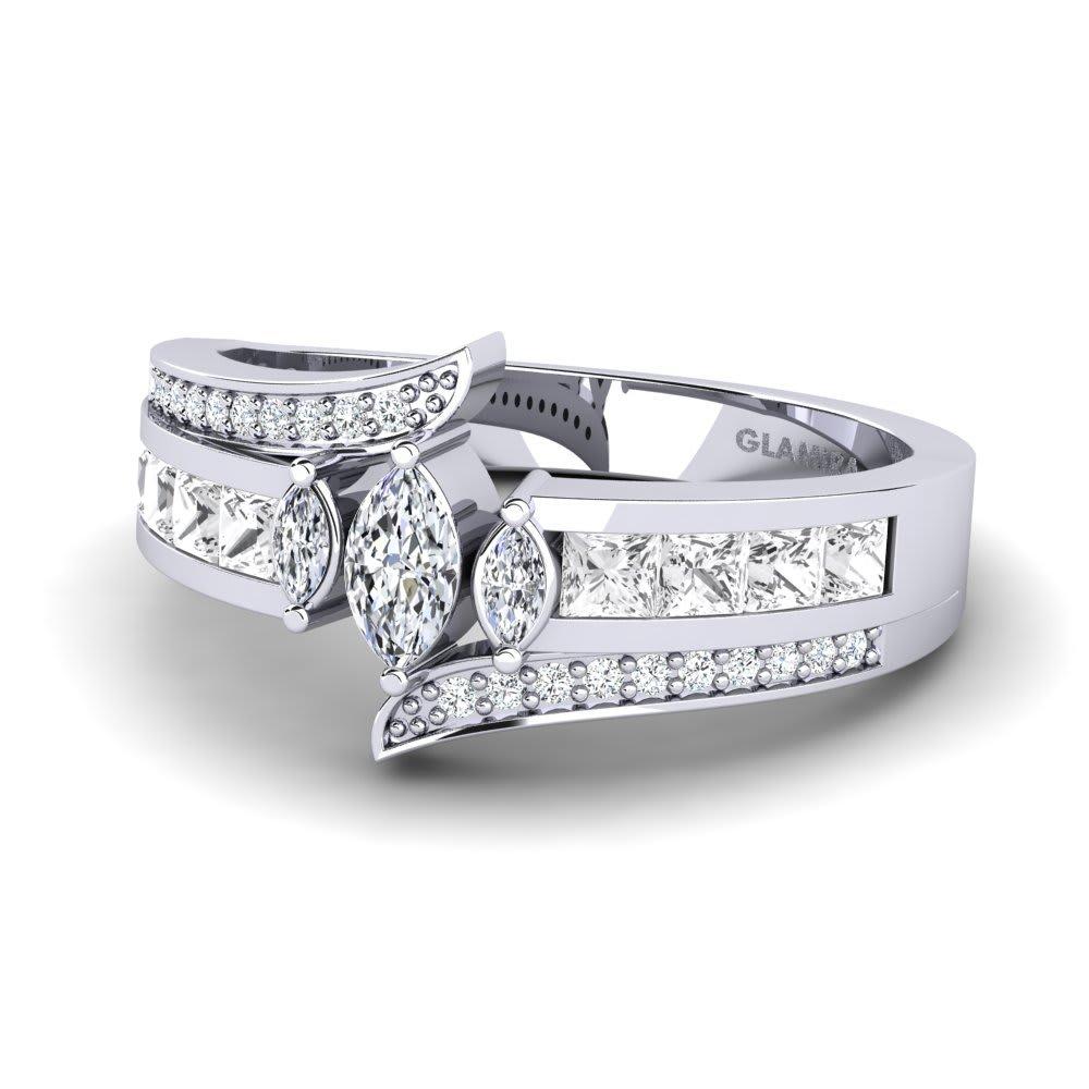 GLAMIRA Diamonds Ring Poppy