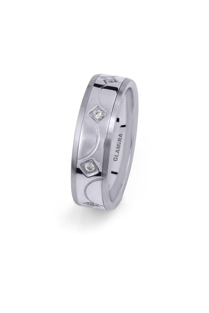 Ženski prstani Steely Circle