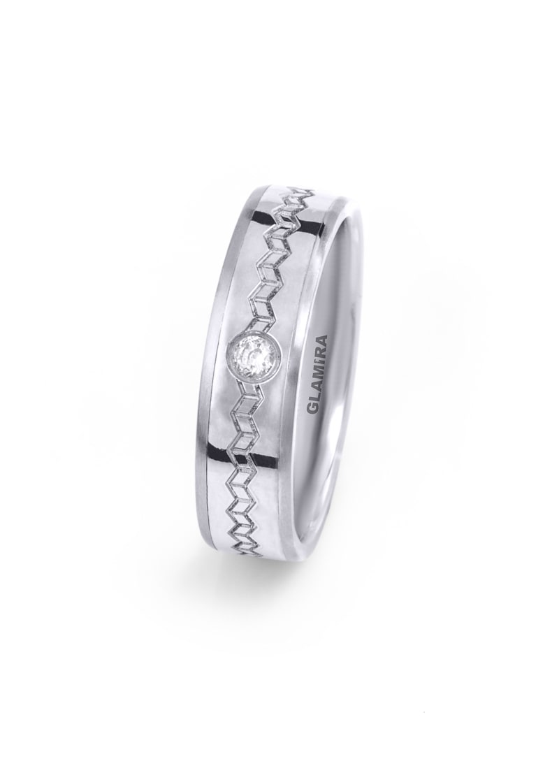 Women's ring Steely Weave