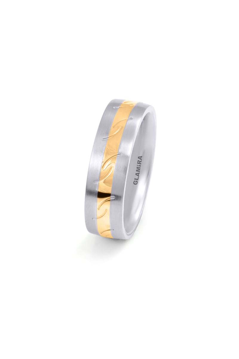 Women's ring Steely Striped