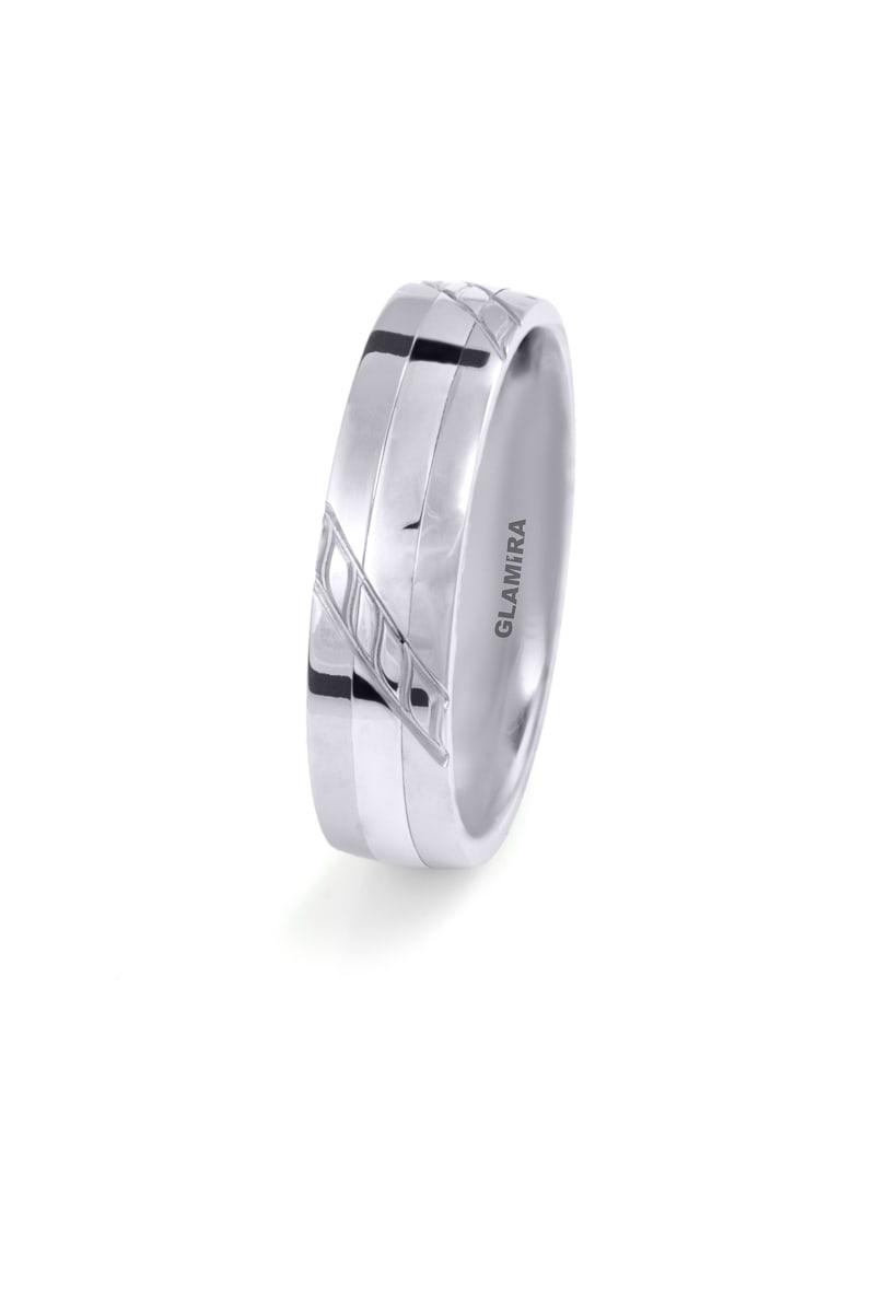 Men's Ring Steely Plain