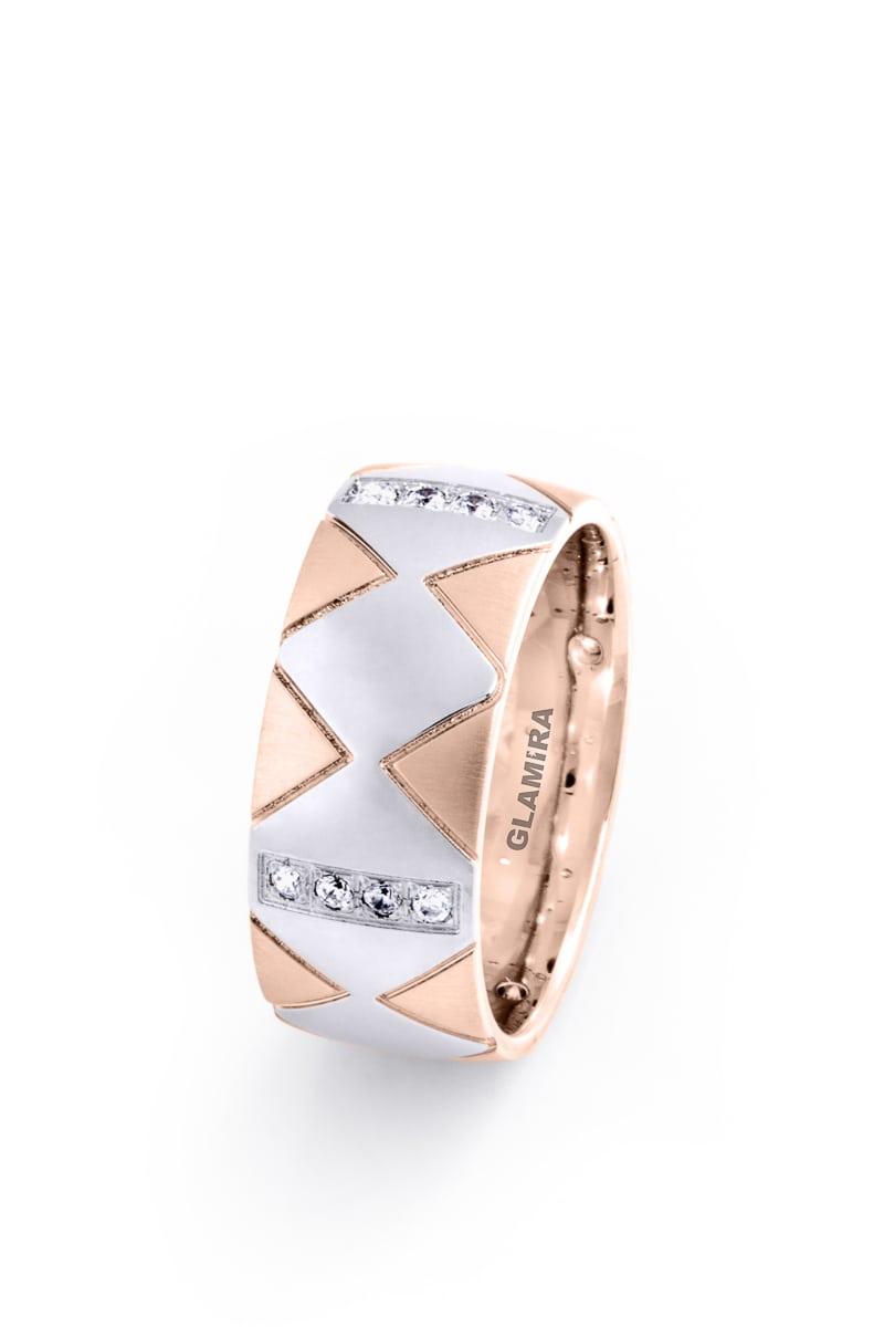 Ženski Prsten Elegant Pyramid