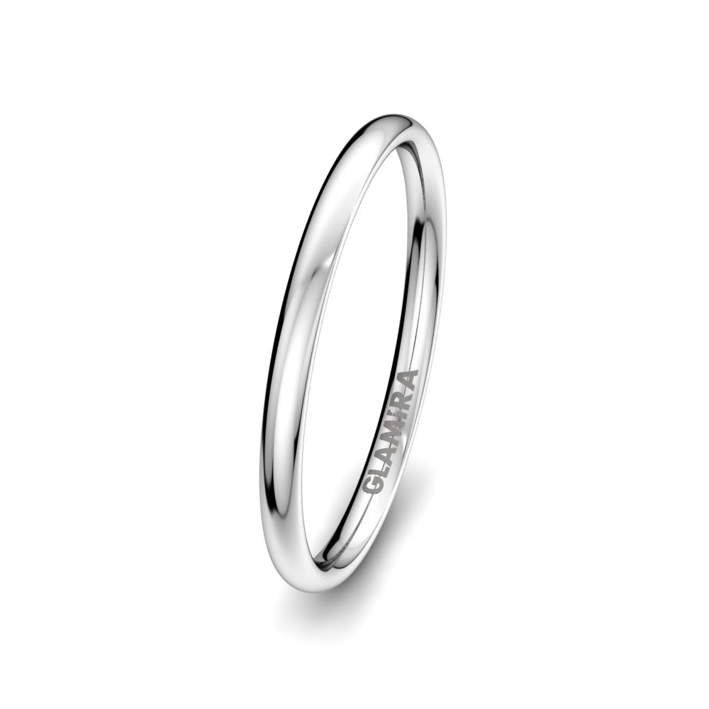 Anello da uomo Bright Love 2 mm