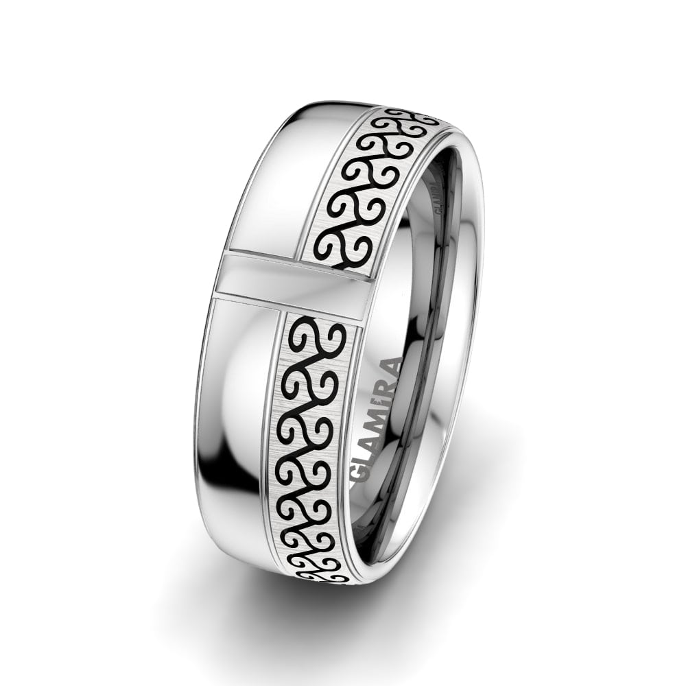 Men's ring Adore Queen 8mm