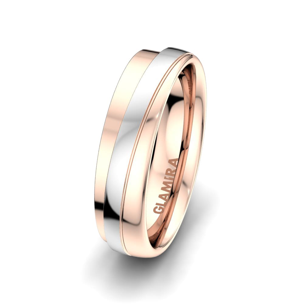 Men's ring Alluring Path 6mm