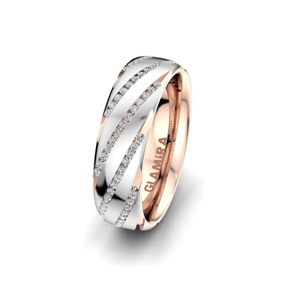 Women's ring Fever Swirl 6mm