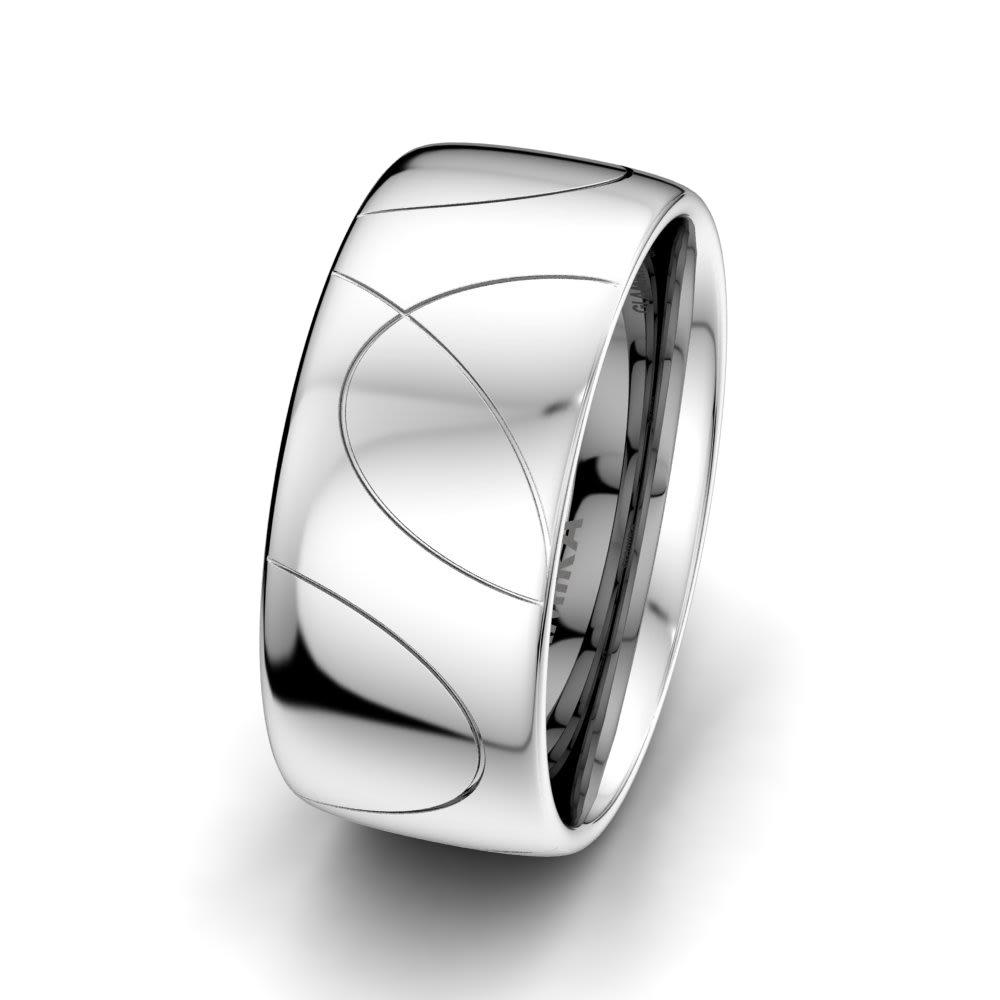 Erkek Yüzük Romantic Geometry 10 mm