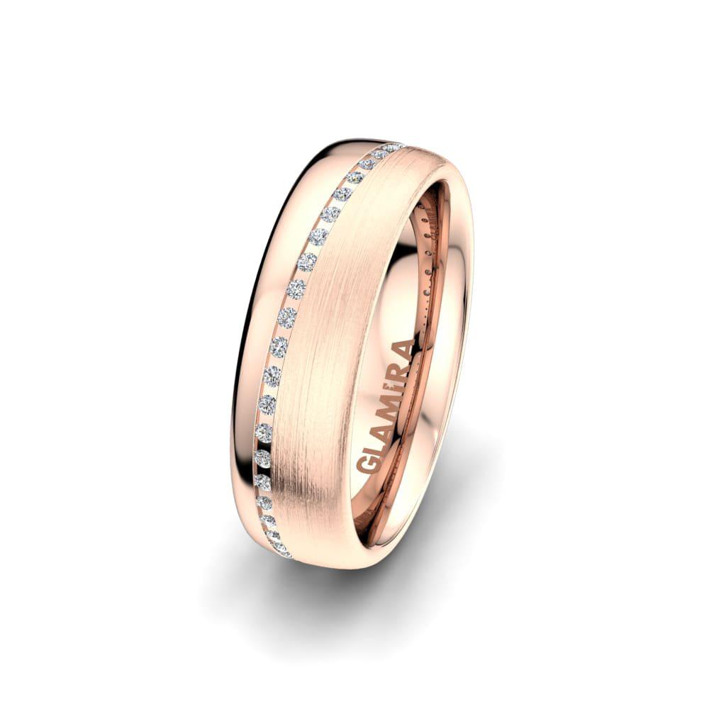 Women's Ring Elegant Aura 6 mm