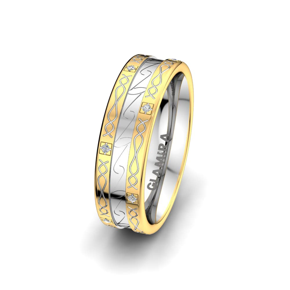 Women's Ring Golden Life 6 mm