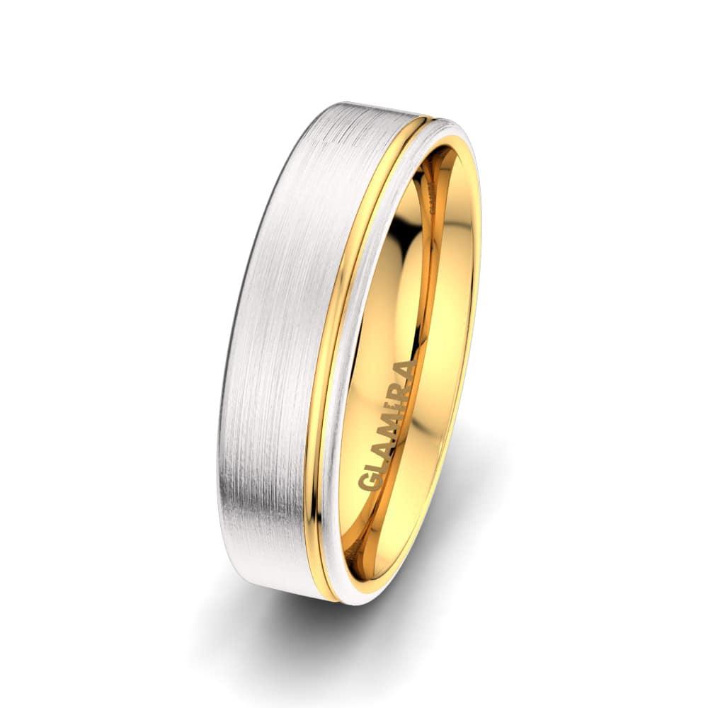 Men's Ring Shining Moon 6 mm