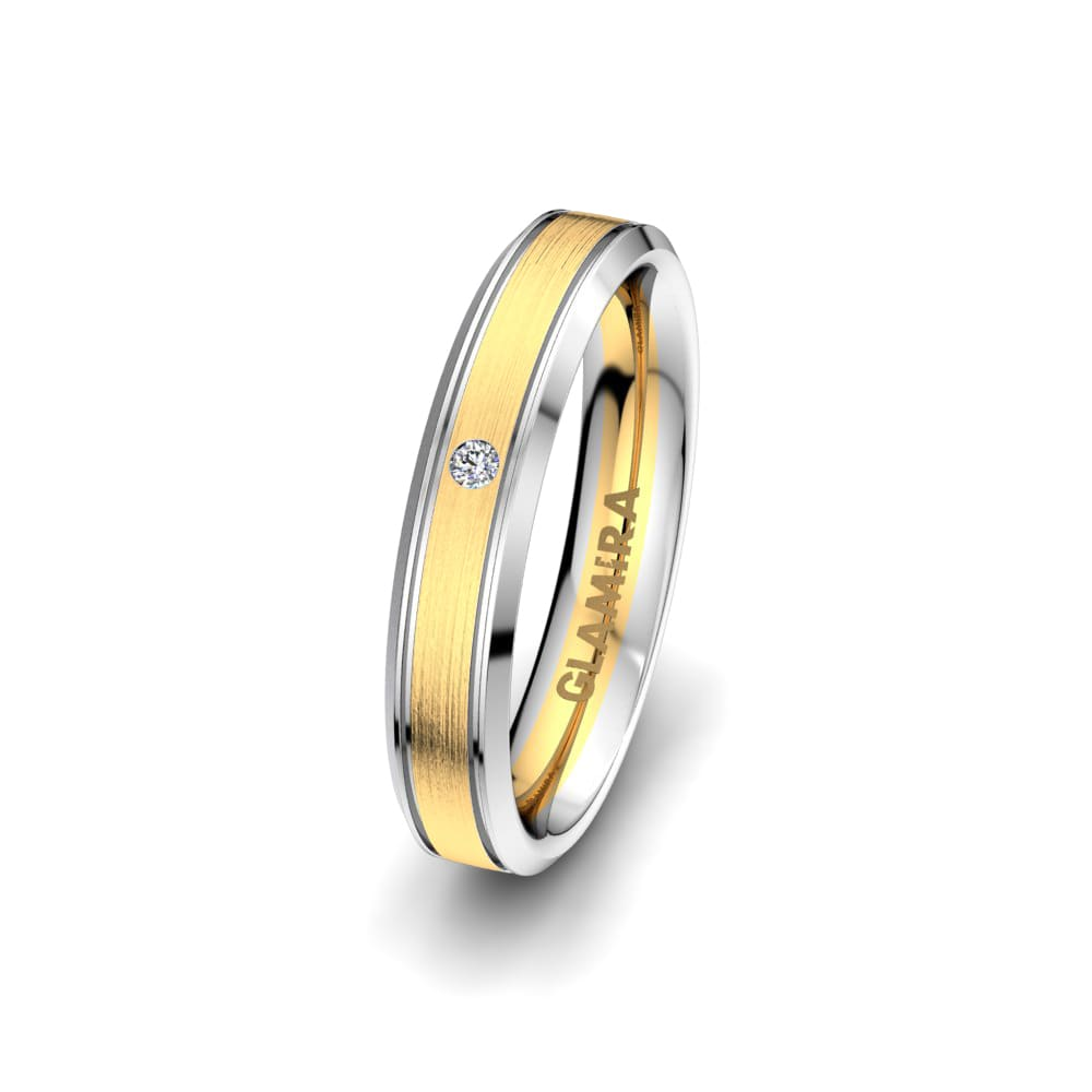 Women's Ring Pure Embrace 4 mm