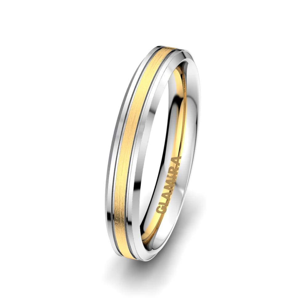 Men's Ring Pure Embrace 4 mm